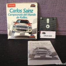 Videojuegos y Consolas: DISCO JUEGO AMSTRAD CARLOS SAINZ . Lote 90344600
