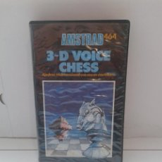 Videojuegos y Consolas: JUEGO AMSTRAD CPC 464,3-D VOICE CHESS,SIMIL A MSX,NES,SPECTRUM,ZX SINCLAIR.. Lote 90351196