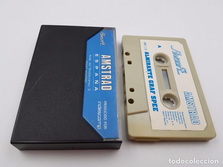 Videojuegos y Consolas: JUEGO CASSETTE ALMIRANTE GRAF SPEE AMSOFT 118 ESPAÑA AMSTRAD CPC.COMBINO ENVIO - Foto 2 - 90572435