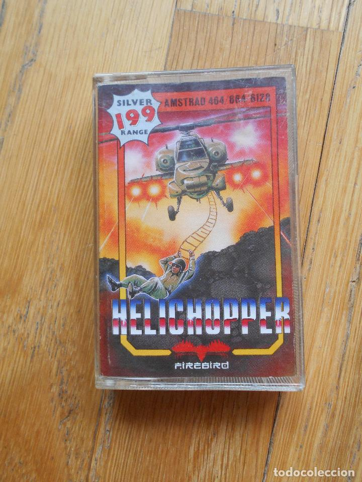 JUEGO HELICHOPPER, AMSTRAD (Juguetes - Videojuegos y Consolas - Amstrad)