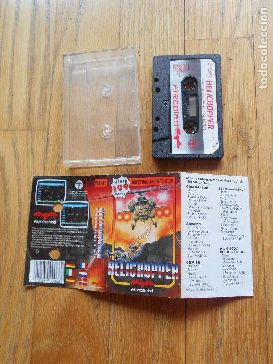 Videojuegos y Consolas: JUEGO HELICHOPPER, Amstrad - Foto 2 - 90942755
