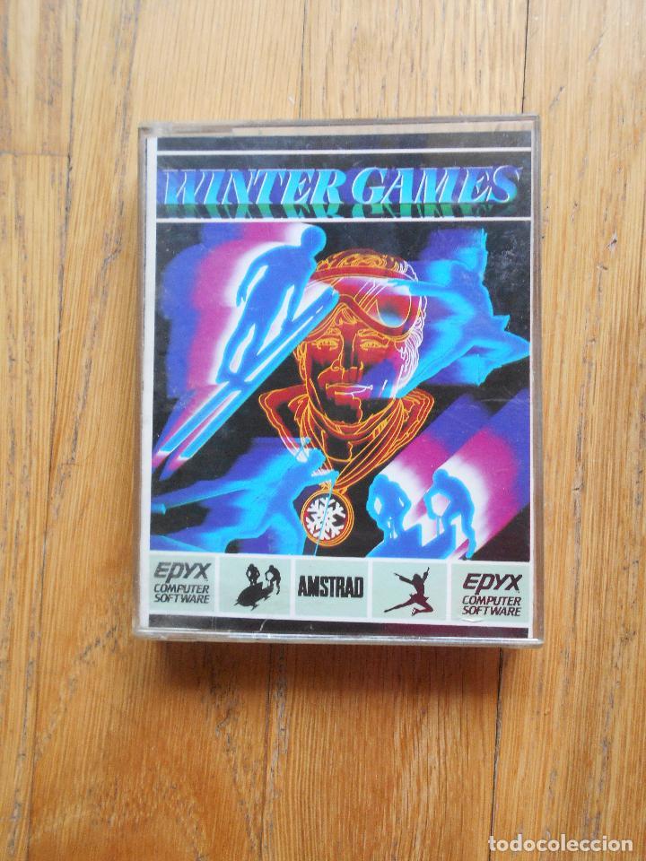 WINTER GAMES, AMSTRAD (Juguetes - Videojuegos y Consolas - Amstrad)
