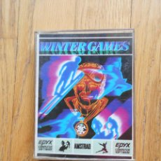 Videojuegos y Consolas: WINTER GAMES, AMSTRAD. Lote 90943110