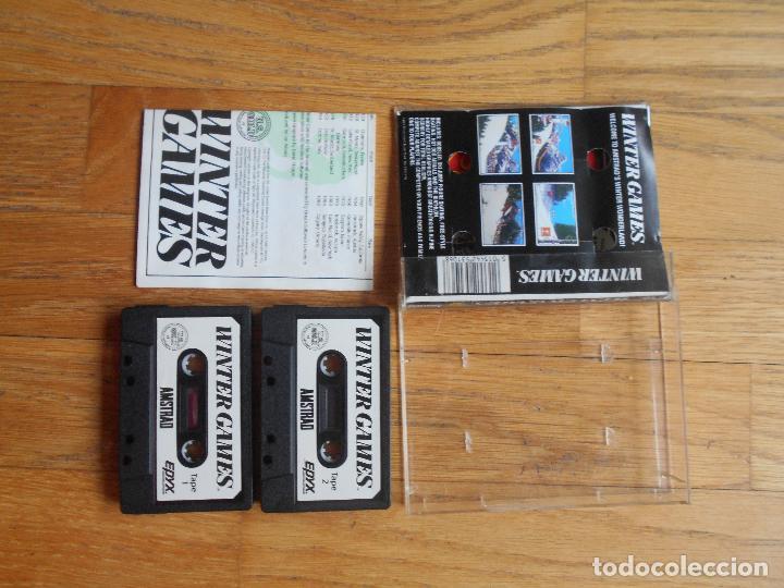 Videojuegos y Consolas: WINTER GAMES, Amstrad - Foto 2 - 90943110