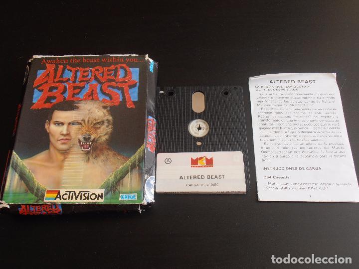 Videojuegos y Consolas: JUEGO AMSTRAD DISCO CPC 6128 DISK, ALTERED BEAST, ACTIVISION SEGA - Foto 2 - 91750460