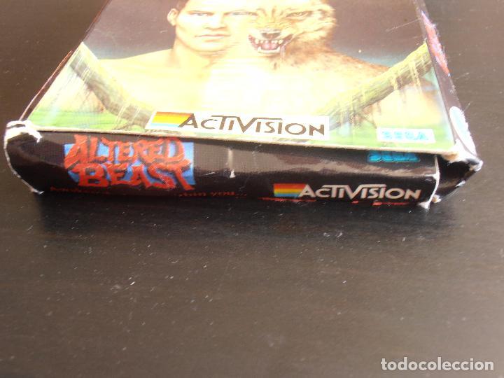 Videojuegos y Consolas: JUEGO AMSTRAD DISCO CPC 6128 DISK, ALTERED BEAST, ACTIVISION SEGA - Foto 4 - 91750460