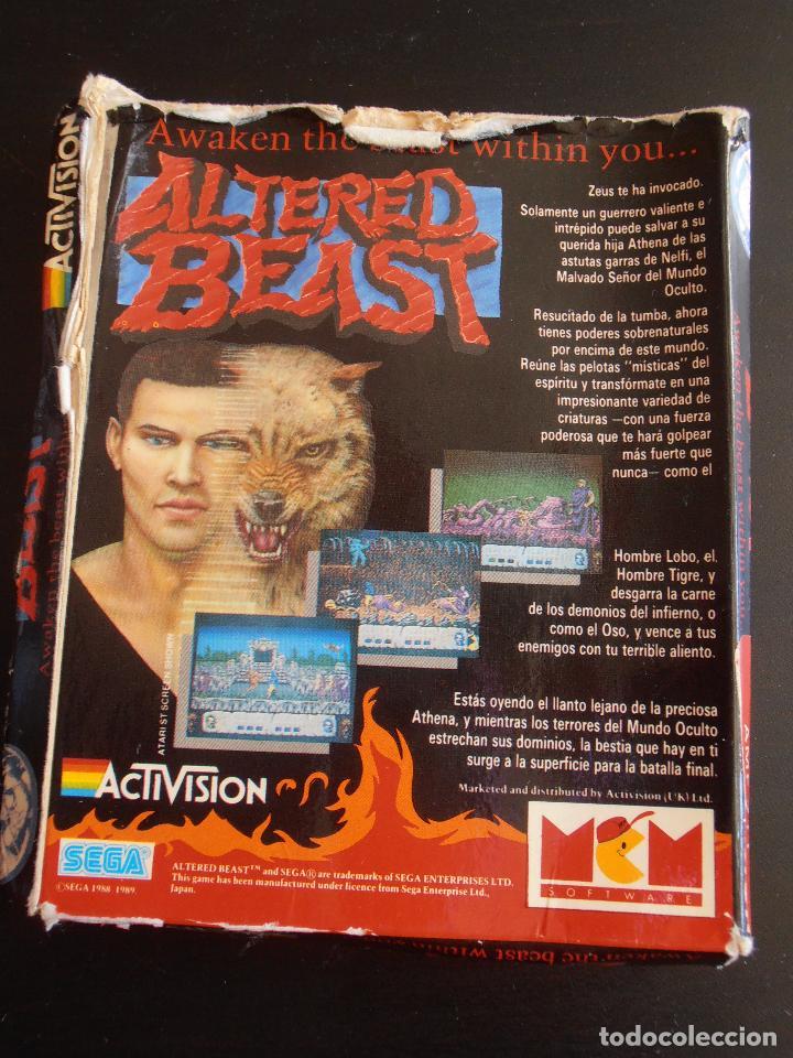 Videojuegos y Consolas: JUEGO AMSTRAD DISCO CPC 6128 DISK, ALTERED BEAST, ACTIVISION SEGA - Foto 6 - 91750460