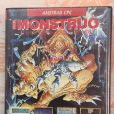 Videojuegos y Consolas: JUEGO AMSTRAD MONSTRUO EN ESPAÑOL COMPLETO. Lote 92630677