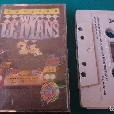 Videojuegos y Consolas: JUEGO WEC LE MANS AMSTRAD CPC CONSOLA VIDEOJUEGO . Lote 93676405
