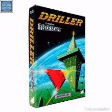 Videojuegos y Consolas: DRILLER / JUEGO AMSTRAD CPC CINTA / 1987. Lote 62970684