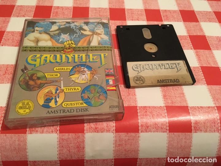 PRIMEROS JUEGOS AMSTRAD CPC GAUNTLET JUEGO ANTIGUO MÍTICO (Juguetes - Videojuegos y Consolas - Amstrad)