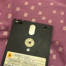 Videojuegos y Consolas: R TYPE ESPECIFICACIONES DISCO AMSTRAD. Lote 94691907