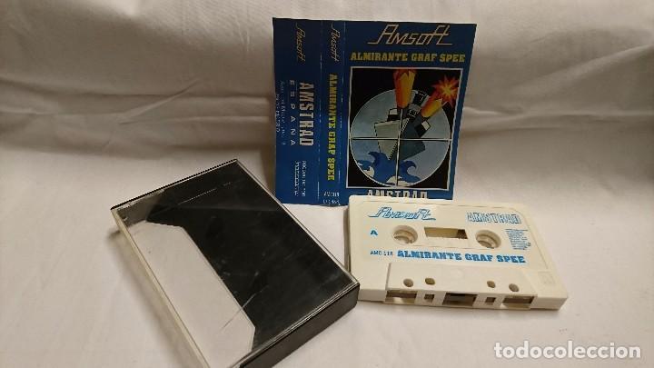 AMSTRAD - JUEGO ALMIRANTE GRAF SPEE (Juguetes - Videojuegos y Consolas - Amstrad)