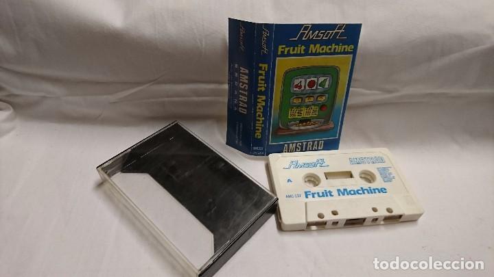 AMSTRAD - JUEGO FRUIT MACHINE (Juguetes - Videojuegos y Consolas - Amstrad)