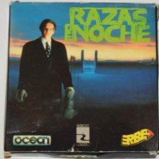 Videojuegos y Consolas: RAZAS DE NOCHE (AMSTRAD DISCO) (ERBE). EDICION ESPAÑOLA.. Lote 95487111