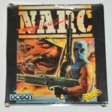Videojuegos y Consolas: NARC (AMSTRAD DISCO) (ERBE). EDICION ESPAÑOLA.. Lote 95487395