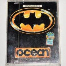 Videojuegos y Consolas: BATMAN (AMSTRAD DISCO) (ERBE). EDICION ESPAÑOLA.. Lote 95487715