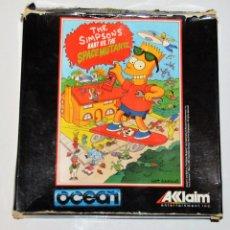 Videojuegos y Consolas: THE SIMPSONS - BARTS VS THE SPACE MUTANTS (AMSTRAD DISCO) (ERBE). EDICION ESPAÑOLA.. Lote 95488007