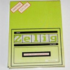 Videojuegos y Consolas: CONTROL DE STOCKS + AGENDA (AMSTRAD DISCO) (ZELIG). EDICION ESPAÑOLA.. Lote 95488119