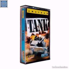 Videojuegos y Consolas: TANK / JUEGO AMSTRAD CPC CINTA / ESPAÑOL / OCEAN ERBE 1987. Lote 95516071