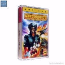 Videojuegos y Consolas: NARCO POLICE / JUEGO AMSTRAD CPC CINTA / ESPAÑOL / DINAMIC 1991 ( LUÍS ROYO COVER ). Lote 95516187