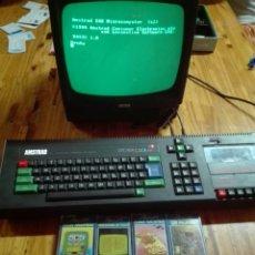 Videojuegos y Consolas: AMSTRAD CPC 464+MONITOR+8JUEGOS TECLADO ESPAÑOL Ñ. Lote 96693304