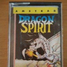 Videojuegos y Consolas: VIDEOJUEGO DRAGON SPIRIT AMSTRAD CINTA. Lote 97070319