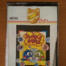 Videojuegos y Consolas: VIDEOJUEGO BUBBLE BOBBLE AMSTRAD CINTA. Lote 97071223