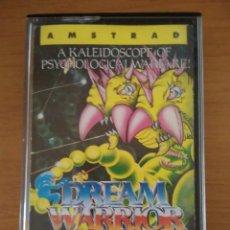Videojuegos y Consolas: VIDEOJUEGO DREAM WARRIOR AMSTRAD CINTA. Lote 97072199