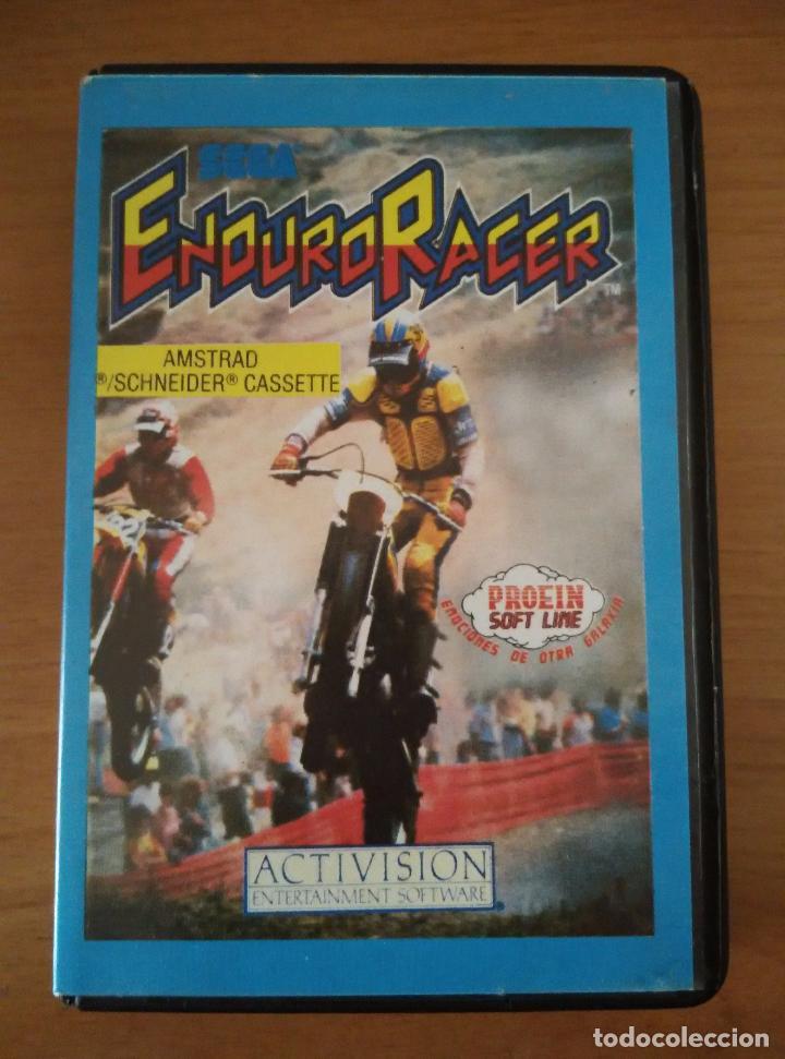 VIDEOJUEGO ENDURO RACER AMSTRAD CINTA (Juguetes - Videojuegos y Consolas - Amstrad)
