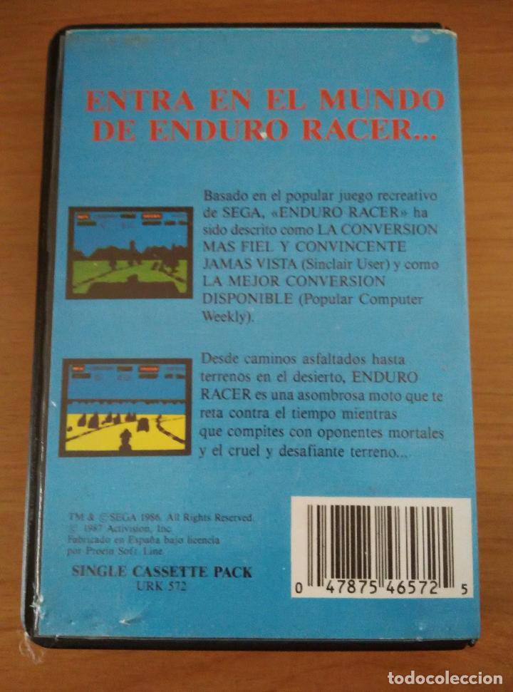 Videojuegos y Consolas: Enduro Racer Reverso - Foto 2 - 97153159