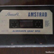 Videojuegos y Consolas: VIDEOJUEGO ALMIRANTE GRAF SPEE AMSTRAD CINTA. Lote 97525619