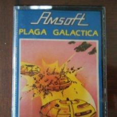 Videojuegos y Consolas: VIDEOJUEGO PLAGA GALÁCTICA AMSTRAD CINTA. Lote 97530843