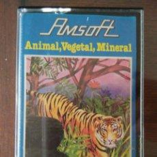 Videojuegos y Consolas: VIDEOJUEGO ANIMAL, VEGETAL Y MINERAL AMSTRAD CINTA. Lote 97531827