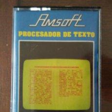 Videojuegos y Consolas: PROCESADOR DE TEXTO AMSTRAD CINTA. Lote 97531991
