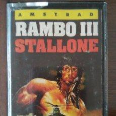 Videojuegos y Consolas: VIDEOJUEGO RAMBO III AMSTRAD CINTA. Lote 97624779