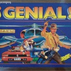 Videojuegos y Consolas: VIDEOJUEGO PACK ¡GENIAL! AMSTRAD CINTA (ESTUCHE). Lote 97698907