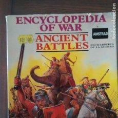 Videojuegos y Consolas: VIDEOJUEGO ANCIENT BATTLES AMSTRAD CINTA (ESTUCHE). Lote 97701023