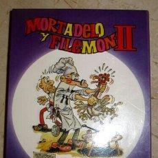 Videojuegos y Consolas: MORTADELO Y FILEMON 2 COMPLETO AMSTRAD CASSETTE. Lote 98110803