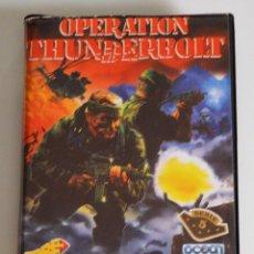 Videojuegos y Consolas: OPERATION THUNDERBOLT (AMSTRAD DISCO) (ERBE). EDICION ESPAÑOLA.. Lote 98612283