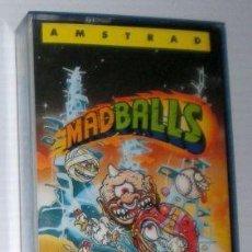 Videojuegos y Consolas: MADBALLS [DENTON DESIGNS] 1987 OCEAN SOFTWARE / ERBE SOFTWARE [AMSTRAD CPC]. Lote 99096395
