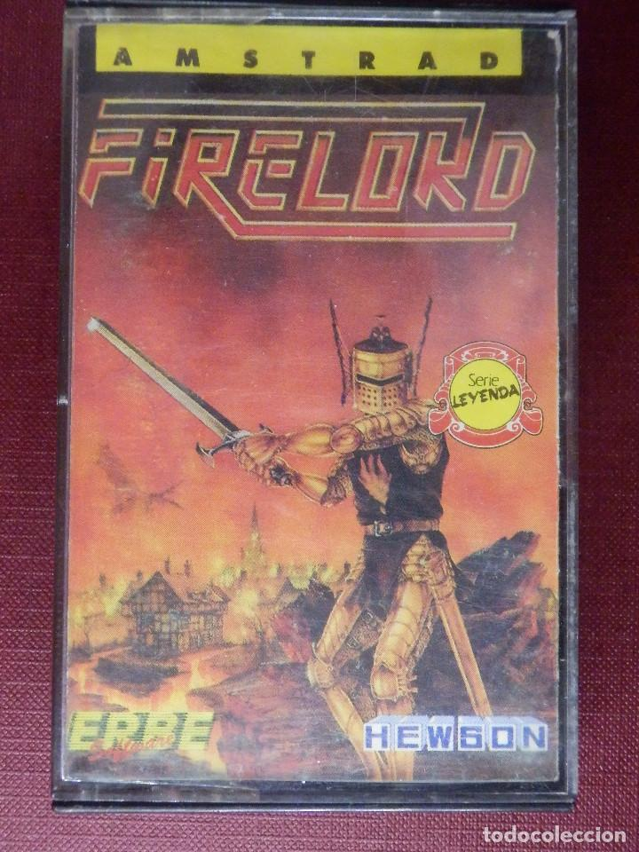JUEGO AMSTRAD Y COMPATIBLES - FIRELORD - FROM HEWSON - ERBE - 1986 (Juguetes - Videojuegos y Consolas - Amstrad)