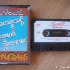 Videojuegos y Consolas: XANAGRAMS - AMSTRAD CPC 464. Lote 99670523