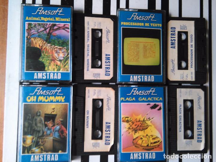 LOTE 4 JUEGOS - AMSTRAD - ORDENADOR CASETES (Juguetes - Videojuegos y Consolas - Amstrad)