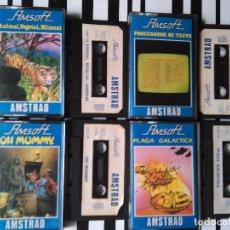 Videojuegos y Consolas: LOTE 4 JUEGOS - AMSTRAD - ORDENADOR CASETES . Lote 99925055