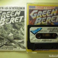 Videojuegos y Consolas: JUEGO AMSTRAD Y COMPATIBLES - GREEN BERET - IMAGINE - KONAMI - . Lote 100105231