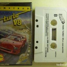 Videojuegos y Consolas: JUEGO PARA AMSTRAD Y COMPATIBLES - TWIN TURBO V8 - ERBE - 1989. Lote 100206371