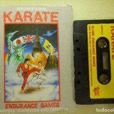 Videojuegos y Consolas: JUEGO PARA AMSTRAD Y COMPATIBLES - INTERNATIONAL KARATE - ENDURANCE - 1986. Lote 100222947