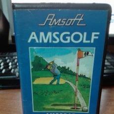 Videojuegos y Consolas: AMSGOLF AMSTRAD. Lote 101017483