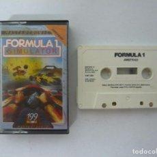 Videojuegos y Consolas: FORMULA 1 SIMULATOR - AMSTRAD CPC 464 - JUEGO EN CASSETTE RETRO. Lote 101244535